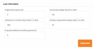 Loan Calculator Calcxml