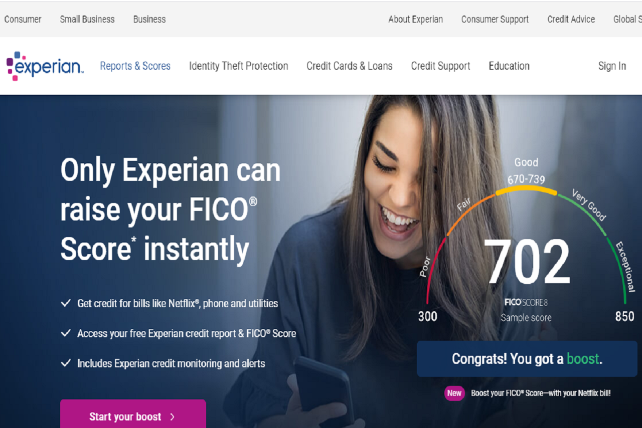 How does Experian Boost work